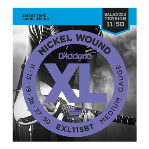 D'Addario EXL115BTx5 , XL Balanced Tension, Med,