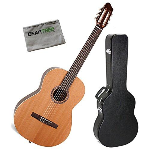 La Patrie 45495 Collection Classical Guitar w/Case and Polish Cloth (La Patrie Classical Guitars)
