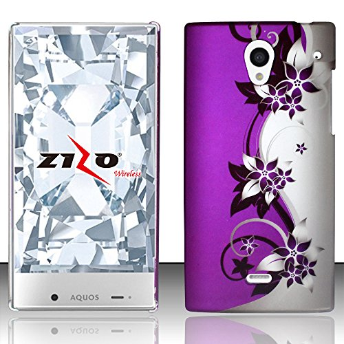 sharp aquos crystal purple case - 1