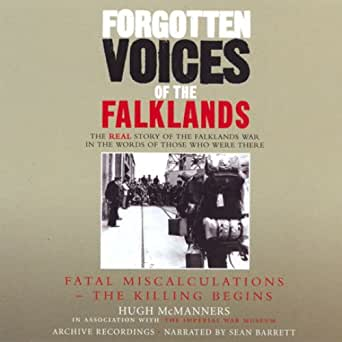 Amazon Com Forgotten Voices Of The Falklands Audible