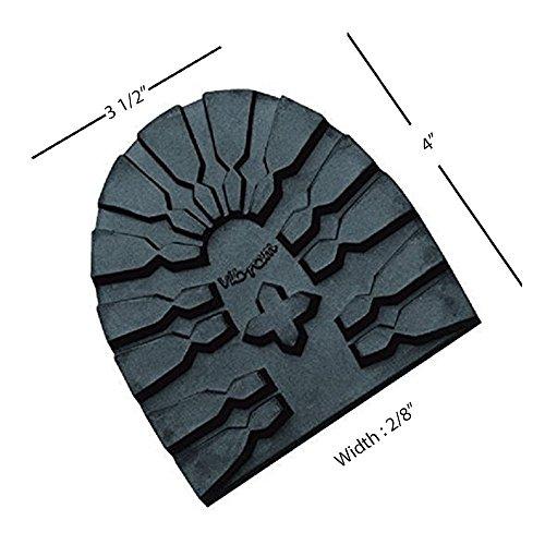 (Vibram # 3359 Lug Heel Lift 12 Iron (Size 40) )