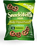 Snackwells Fudge Dipped Pretzel, 6 Count (Pack of 6)