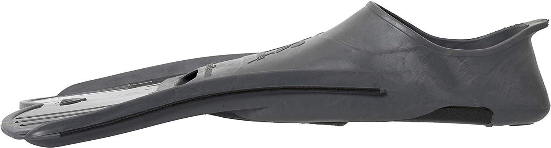 Pinne Corte Leggere e Potenti per Nuoto//Snorkeling Unisex 43//44 EU Grigio//Nero Cressi Light