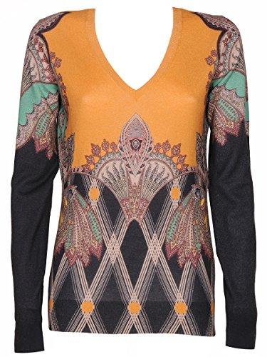 Etro Mujer 1871594661 Multicolor Seda Jersey