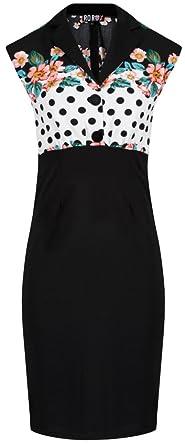 364841a3f Vestido estilo a ntilde os 50 nbsp Rockabilly con lunares y cerezas