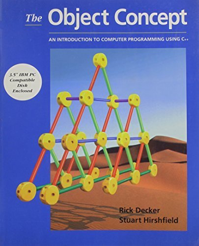 The Object Concept: An Introduction to Computer Programming Using C++ by Decker, Rick (1995) Taschenbuch