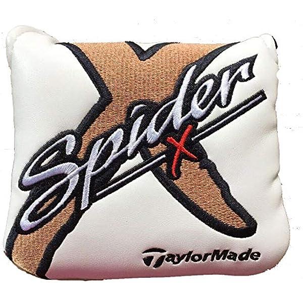 TaylorMade Spider X - Funda para putter, color blanco: Amazon.es ...