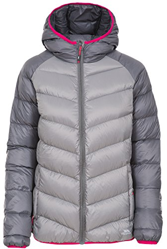 Trespass Women's Kirstin Down Jacket Storm Grey
