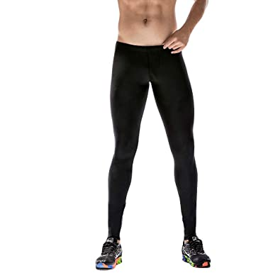 f5f0385ccc860 REYO Men Sweatpants Sale, Mens Gym Sport Thermal Tight Compression Base  Layer Pants Long Leggings Trousers at Amazon Men's Clothing store: