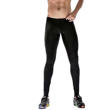 Amazon.com: Siviki Sports Tights Man Workout Leggings ...