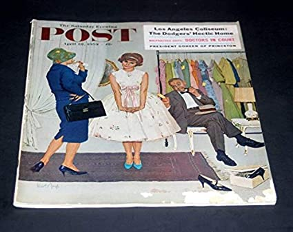 No The Saturday Evening Post 231 Vol 42 April 18, 1959