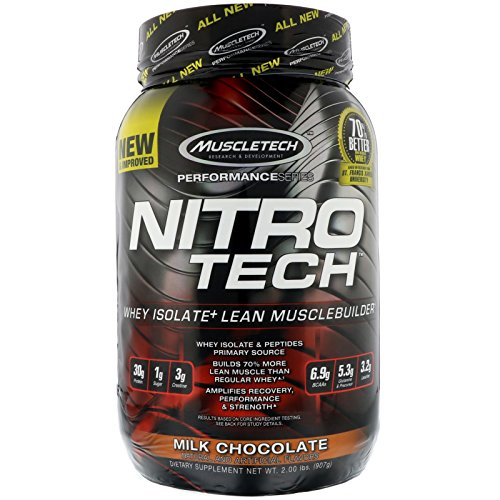 - Muscletech Nitro Tech Whey Isolate Lean Muscle Builder Cookies and Cream 2 00 lbs 907 g