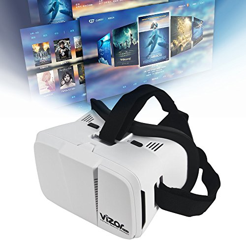 VR Box Virtual Reality Glass (White) - 2