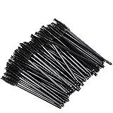 GoWorth 200 PCS Disposable Eyelash Mascara Brushes