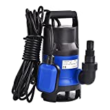 SolarM 3/4HP 550W Submersible Dirty Clean Water Pump Swimming Pool Pond Water Transfer