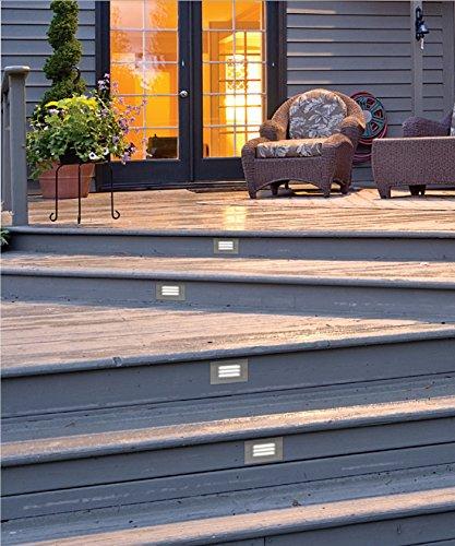 NICOR Step Light Recessed LED White STP-10-120-3K-WH