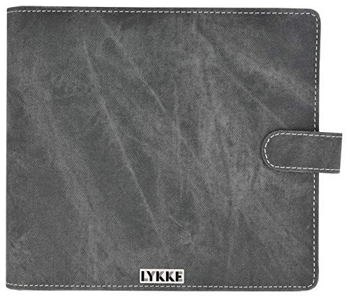 Lykke Double Pointed Needles Gift Sets (Large US 6-13 Set in Grey Denim Pouch) (Needles Gift Set Knitting)