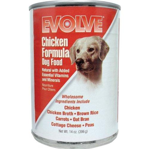 Evolve Chicken Dog Food - 12x13.2oz