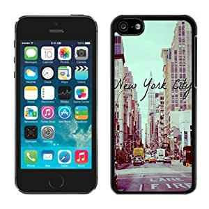 New York City Iphone 4s Case Black Cover
