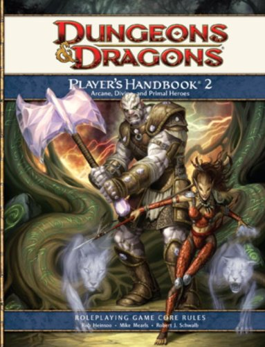 Dungeons & Dragons: Player's Handbook 2- Roleplaying Game Core (Dungeons Dragons 4th Edition)