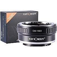 K&F Concept Pro Lens Mount Adapter, Olympus OM Lens to Sony NEX (E-Mount) Camera Body, for NEX-3, NEX-3N, NEX-5, NEX-5R, NEX-6, NEX-7