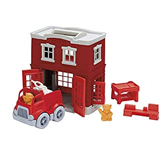 Fire Station Toy Set by Green Toys