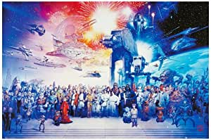 1art1® 48334 Star Wars - Póster con el reparto completo (91 x 61 cm)