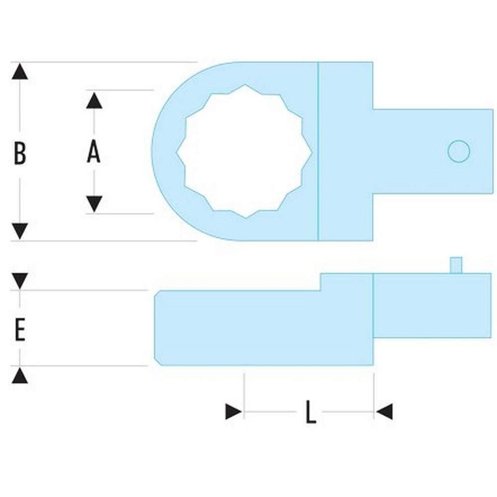 FACOM Ringschlüssel-Einsatz (9x12 mm) 3 8 8 8 Zoll, 1 Stück, 12.3 8 B00HQBTRQO | Niedrige Kosten  732b6c