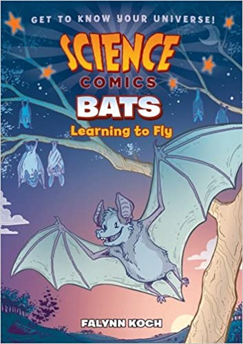 Image result for Science Comics Bats Learning to fly