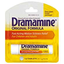 Dramamine Motion Sickness Relief 12-Count