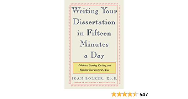 Writing your dissertation fifteen minutes day music education phd thesis