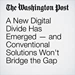 A New Digital Divide Has Emerged — and Conventional Solutions Won't Bridge the Gap | Blair Levin,Larry Downes