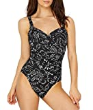 Miraclesuit Riviera Maya Sanibel One-Piece, 14, Black