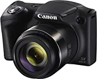 Canon Powershot SX420 IS 20 MP Wi-Fi Digital Camera with 42x Zoom (Black) Includes: Canon NB-11LH Battery & Canon Charger + 9pc 32GB Deluxe Accessory Kit w/Camera Works Cloth & Cleaning Solution by Canon