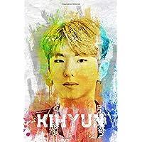 Kihyun: Monsta X Member Color Splatter Art 100
