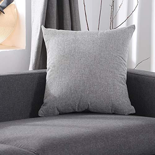 YGHBKL Almohada de sofá de Oficina Lisa Espesar Color ...