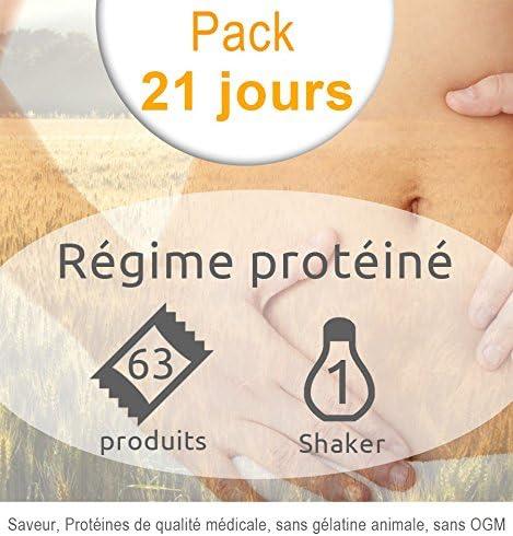 Pack Regime hyperprotéiné 21jours-39sachets-16Stangen/Snacks