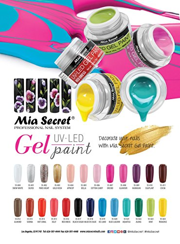 Mia Secret Nail Gel UV LED Paint 25 Color Availible NEW!! (811 COCOA) - 811 Cocoa