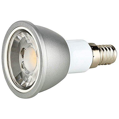Berühmt 6 Watt LED Strahler Spot 600 Lumen E14 warmweiß Schraubsockel 251 RC12