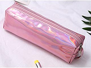 HOUHOUNNPO Sac de Rangement Pliable à la Mode Sac cosmétique Pochette Sac de Lavage pour Les Femmes (Rose) Pochette Cosmétique Femme