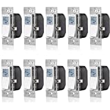 Leviton VPT24-1PZ Vizia 24-Hour Programmable Indoor Timer with Astronomical Clock, 10-Pack