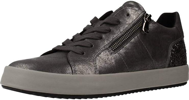 Sobretodo Arte construir  Geox Mujer Zapatos de Cordones BLOMIEE, señora Calzado Deportivo:  Amazon.es: Zapatos y complementos