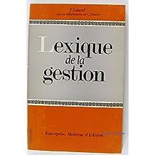 Lexique de la gestion