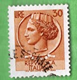 Used Italy Postage Stamp %281960%29 30l