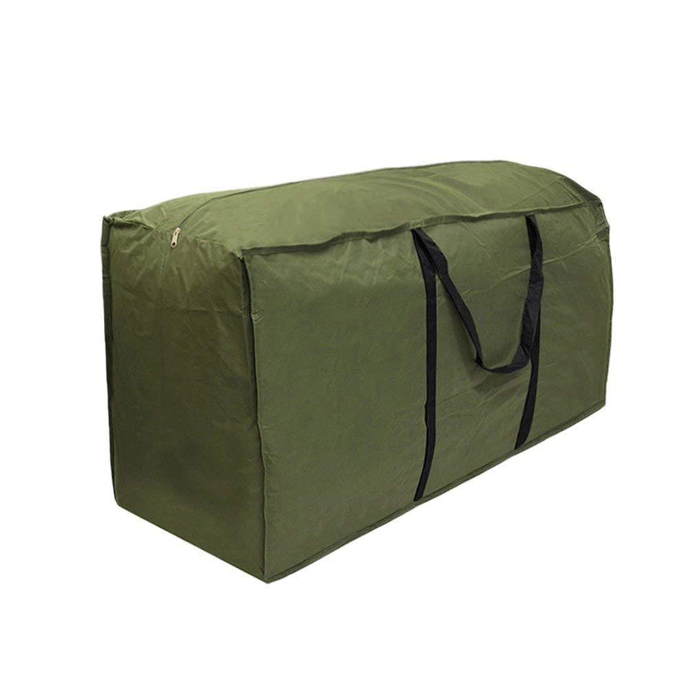 Leisuretime Custodia per Albero di Natale Borsa per Cuscino da Giardino Cuscinetti per mobili Pesanti Custodia per Trasporto Leggero (122 * 39 * 55)