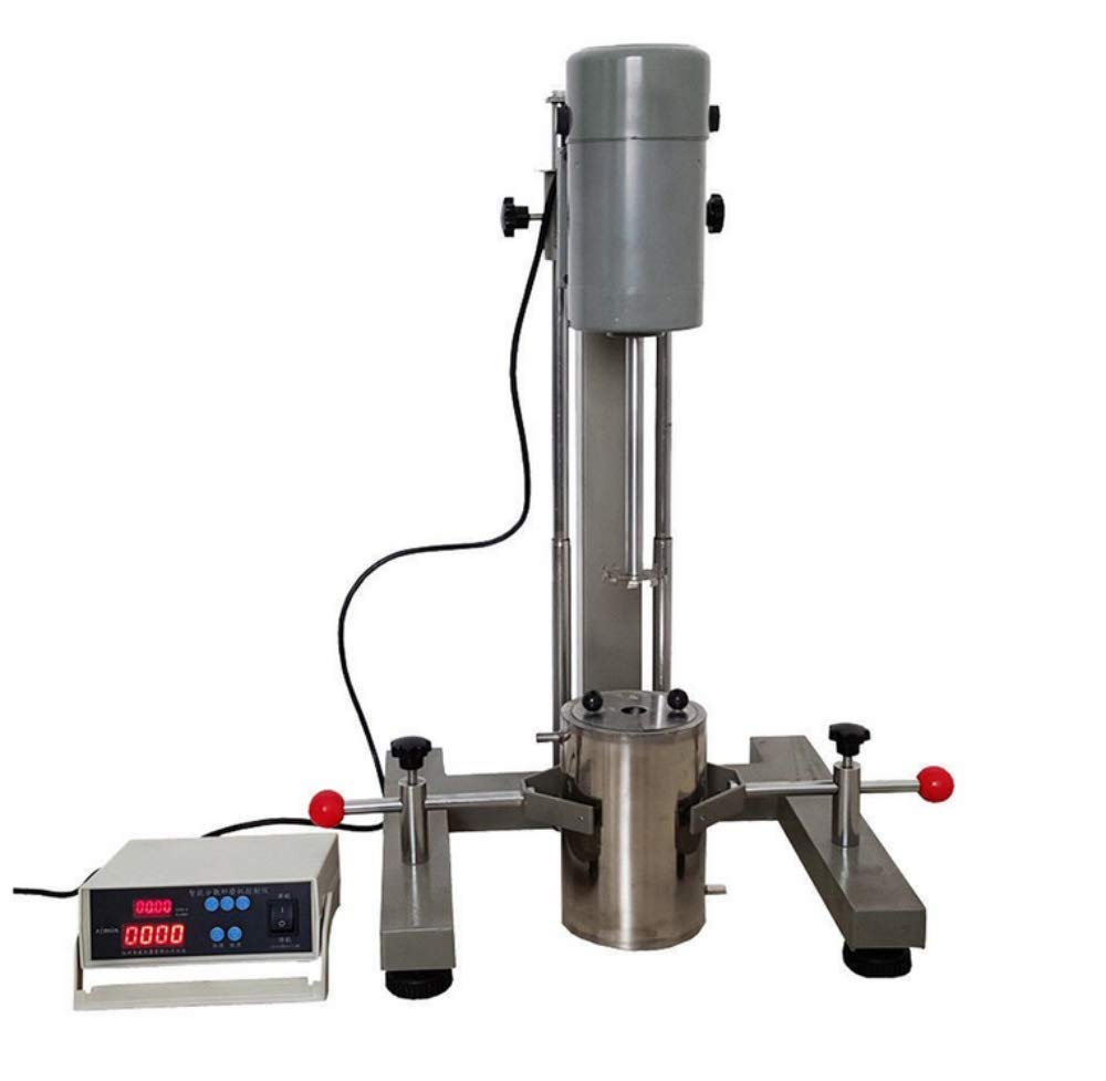 VTSYIQI High Speed Digital Laboratory Disperser Mixer Lab Homogeneous Dispersing Machine emulsifying Mixer with Motor Power 400W FS-400D for Disperse and homogenize Testing by VTSYIQI (Image #4)