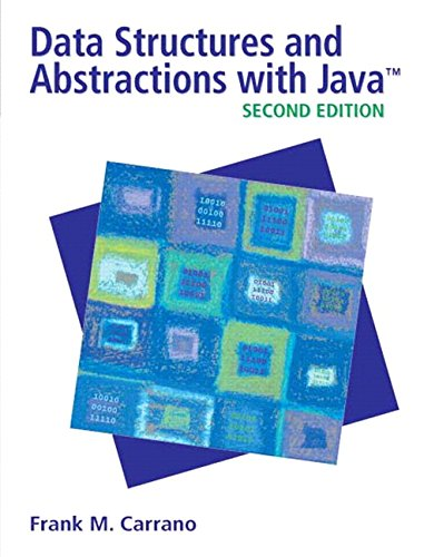 Data Structures and Abstractions with Java (2nd Edition) by Brand: Prentice Hall