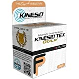 Kinesio Tex Gold Wave, Latex-Free, Water-Resistant -...