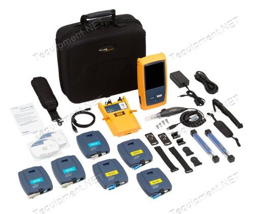 - Fluke Networks OFP-100-QI/GLD OptiFiber Pro Quad OTDR with Inspection Kit and