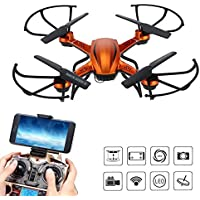 AMZStone RC Quadcopter Drone with HD Camera RTF 4 Channel 2.4GHz 6-Gyro Headless System